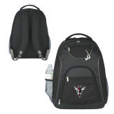 The Ultimate Black Computer Backpack-Hornet Bevel L