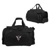 Challenger Team Black Sport Bag-Hornet Bevel L