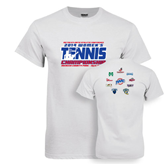 White T Shirt-2014 Womens Tennis Championship Mercer County