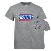Sport Grey T Shirt-2014 Womens Tennis Championship Mercer County