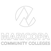 Maricopa Comm Extra Large Decal-Primary Mark Stacked, 18 in. tall
