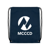 Maricopa Comm Navy Drawstring Backpack-Acronym
