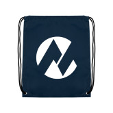 Maricopa Comm Navy Drawstring Backpack-Icon