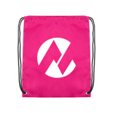 Maricopa Comm Pink Drawstring Backpack-Icon