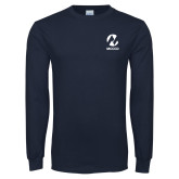 Maricopa Comm Navy Long Sleeve T Shirt-Acronym