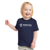 Maricopa Comm Toddler Navy T Shirt-Primary Mark