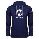 Maricopa Comm Adidas Climawarm Navy Team Issue Hoodie-Acronym