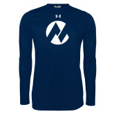 Maricopa Comm Under Armour Navy Long Sleeve Tech Tee-Icon