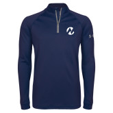Maricopa Comm Under Armour Navy Tech 1/4 Zip Performance Shirt-Icon