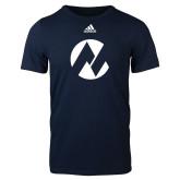 Maricopa Comm Adidas Navy Logo T Shirt-Icon