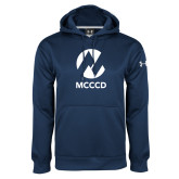 Maricopa Comm Under Armour Navy Performance Sweats Team Hoodie-Acronym