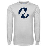 Maricopa Comm White Long Sleeve T Shirt-Icon