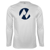 Maricopa Comm Syntrel Performance White Longsleeve Shirt-Icon