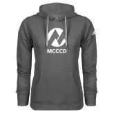 Maricopa Comm Adidas Climawarm Charcoal Team Issue Hoodie-Acronym