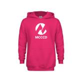 Maricopa Comm Youth Raspberry Fleece Hoodie-Acronym