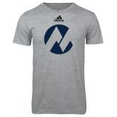 Maricopa Comm Adidas Sport Grey Logo T Shirt-Icon