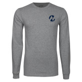 Maricopa Comm Grey Long Sleeve T Shirt-Icon
