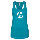 Maricopa Comm Next Level Ladies Tahiti Blue Ideal Racerback Tank-Icon