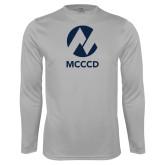 Maricopa Comm Performance Platinum Longsleeve Shirt-Acronym