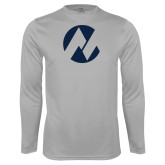 Maricopa Comm Performance Platinum Longsleeve Shirt-Icon