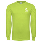 Maricopa Comm Lime Green Long Sleeve T Shirt-Acronym