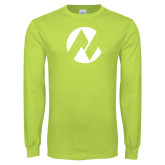 Maricopa Comm Lime Green Long Sleeve T Shirt-Icon