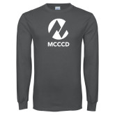 Maricopa Comm Charcoal Long Sleeve T Shirt-Acronym