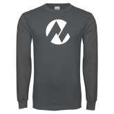 Maricopa Comm Charcoal Long Sleeve T Shirt-Icon