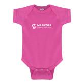 Maricopa Comm Fuchsia Infant Onesie-Primary Mark