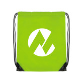 Maricopa Comm Lime Green Drawstring Backpack-Icon