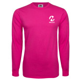 Maricopa Comm Hot Pink Long Sleeve T Shirt-Acronym