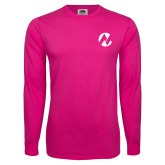 Maricopa Comm Hot Pink Long Sleeve T Shirt-Icon