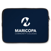 Maricopa Comm 15 inch Neoprene Laptop Sleeve-Primary Mark Stacked