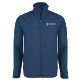 Maricopa Comm Navy Softshell Jacket-Primary Mark