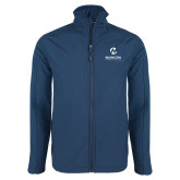 Maricopa Comm Navy Softshell Jacket-Primary Mark Stacked