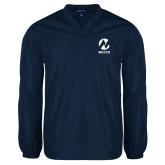 Maricopa Comm V Neck Navy Raglan Windshirt-Acronym