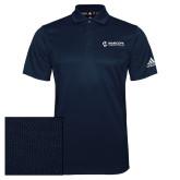 Maricopa Comm Adidas Climalite Navy Grind Polo-Primary Mark