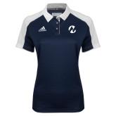 Maricopa Comm Ladies Adidas Modern Navy Varsity Polo-Icon