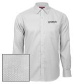 Maricopa Comm Red House White Diamond Dobby Long Sleeve Shirt-Primary Mark