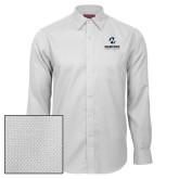 Maricopa Comm Red House White Diamond Dobby Long Sleeve Shirt-Primary Mark Stacked