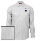 Maricopa Comm Red House White Diamond Dobby Long Sleeve Shirt-Acronym