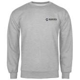 Maricopa Comm Grey Fleece Crew-Primary Mark