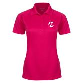 Maricopa Comm Ladies Pink Raspberry Dry Mesh Pro Polo-Icon