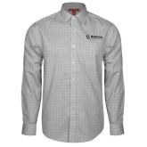 Maricopa Comm Red House Grey Plaid Long Sleeve Shirt-Primary Mark