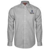 Maricopa Comm Red House Grey Plaid Long Sleeve Shirt-Primary Mark Stacked