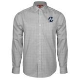 Maricopa Comm Red House Grey Plaid Long Sleeve Shirt-Icon