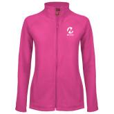 Maricopa Comm Ladies Fleece Full Zip Raspberry Jacket-Acronym