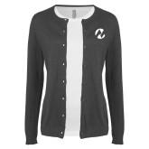 Maricopa Comm Ladies Charcoal Cardigan-Icon