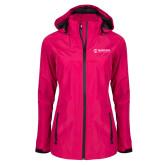 Maricopa Comm Ladies Dark Fuchsia Waterproof Jacket-Primary Mark