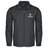 Maricopa Comm Full Zip Charcoal Wind Jacket-Primary Mark Stacked